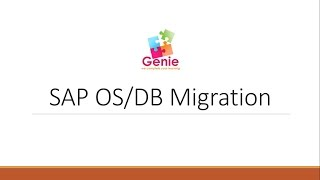 SAP OS/DB Migration - Basics