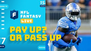 Which RBs are Worth Paying Up For?   NFL Fantasy Live screenshot 2