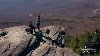 Mountain Top Proposal Filmed By Drone | MacRae Peak