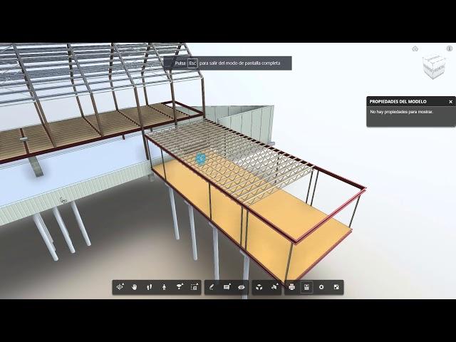A360 BIM Team Vs Visor de Autodesk