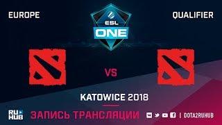 TEAMMORIARTY vs Team World, ESL One Katowice EU, game 1 [Adekvat, Smile]