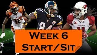 Fantasy Football 2018 Start 'em sit 'em Week-6