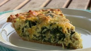 Quiche Cookoff With Moonshine - Crab & Spinach Quiche