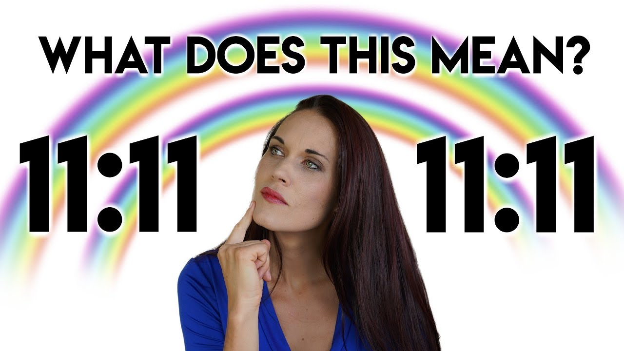 11:11 What is the Meaning of 11:11 And Why Do I Keep Seeing 11:11? - Teal  Swan