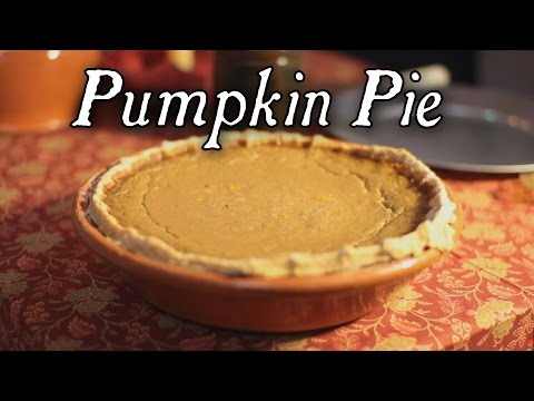 Pumpkin Pie 18th Century Cooking With Jas Townsend And Son S5E13