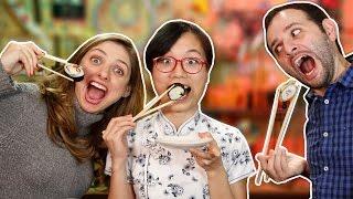 Como comer com palitinho japonês ft. Pula Muralha