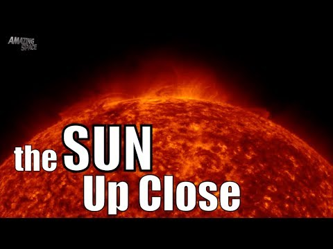 The Sun Up Close - Incredible 4K Video of the suns surface - Solar Flares / CMEs