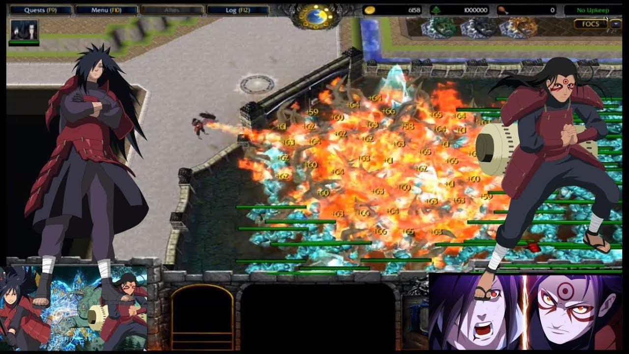 Download foc fight of character 9.4 madara&hashirama-combo