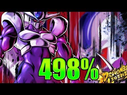 Final Form Cooler (Coora) 498% Showcase || Dragon Ball Legends