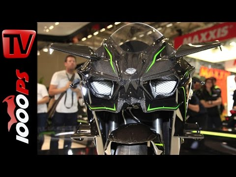 Kawasaki H2 R - Leistung, Preis, Fahrverhalten