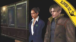 Behind the Scenes - Resident Evil 4 Slipping Out