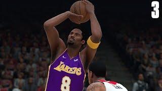 NBA 2K18 Kobe Bryant MyCareer #3   Kobe Bryant Season High Points  
