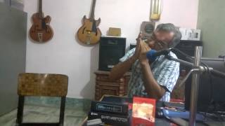 Kuch To Hai cover Rajendra Prasad Saxena on Harmonica
