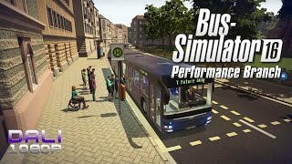 Bus Simulator 16 Performance Branch PC Gameplay 1080p 60fps