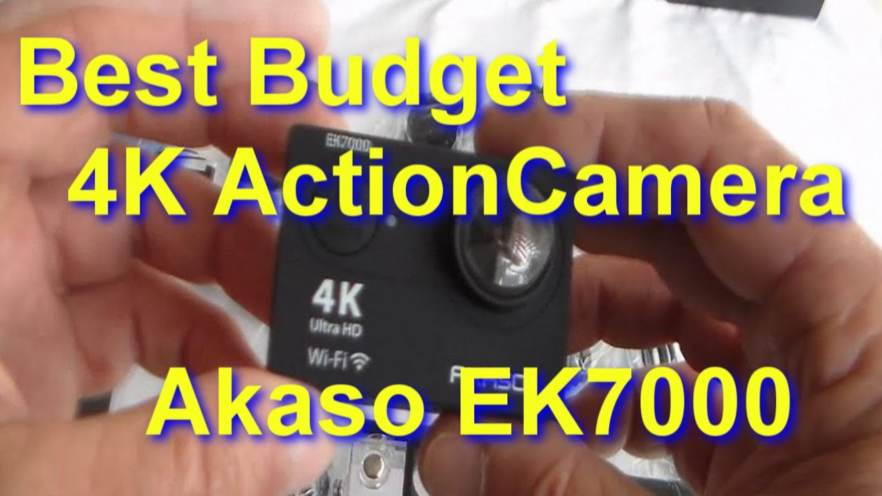 akaso ek7000 4k action camera unboxed how to use with. Black Bedroom Furniture Sets. Home Design Ideas
