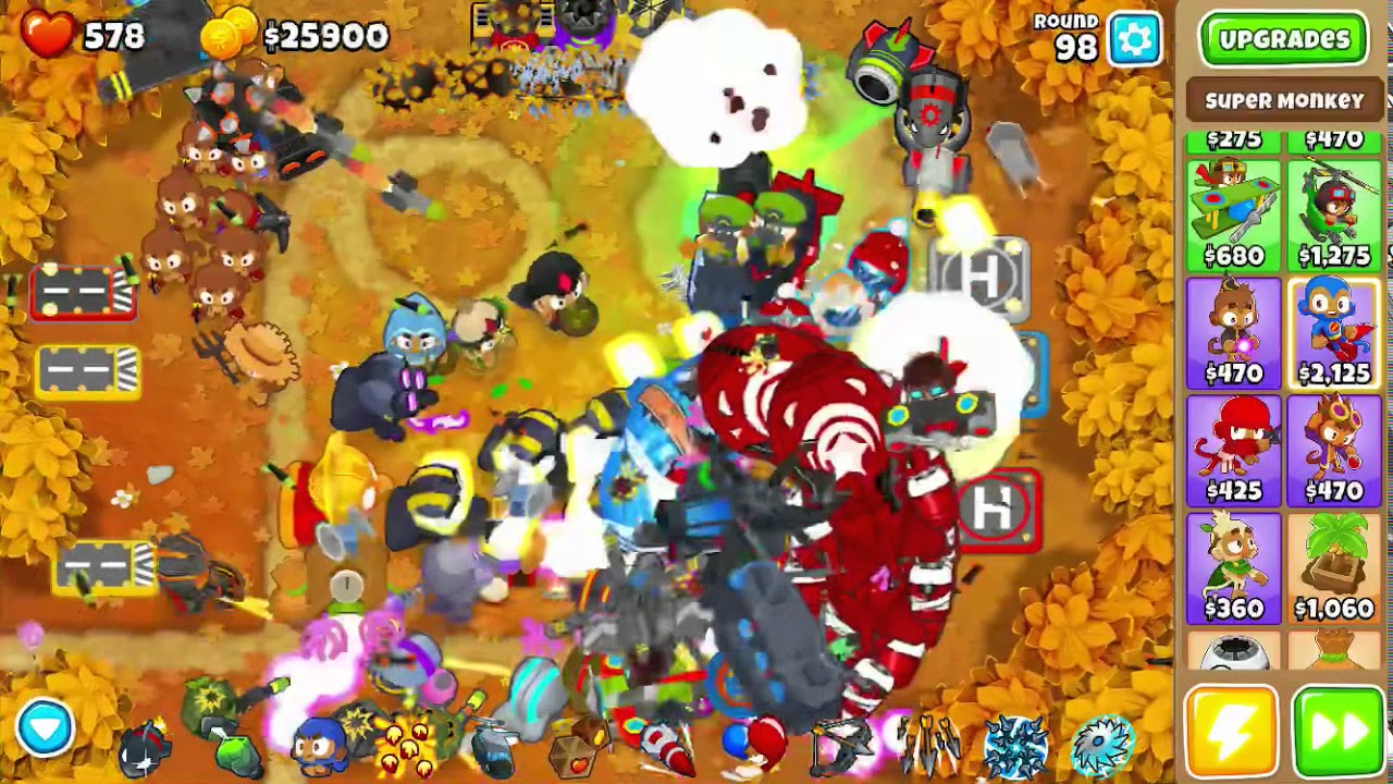 BTD6 How to Level Up All Towers Quick and Simple !!!