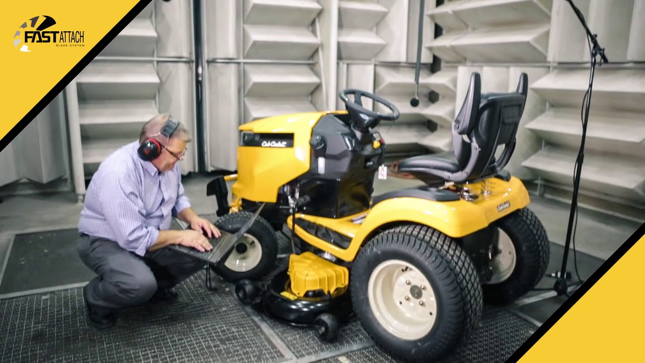 Cub Cadet Fast Attach Blade System Introducing the fast attach blade system