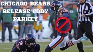 Chicago Bears Release Cody Parkey