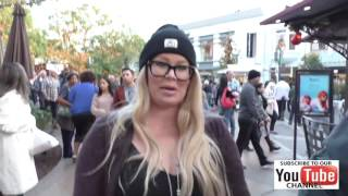 Jenna Jameson very pregnant talks about Trump and her moving out of the country while shopping at Th