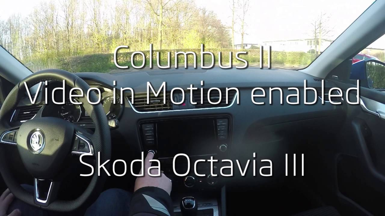 Columbus Ii Enable Video In Motion Vim Using Vcp On Octavia Iii