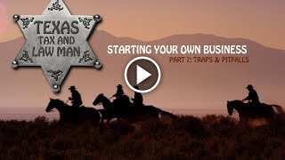 Starting Your Own Business: Traps & Pitfalls (Part 7)