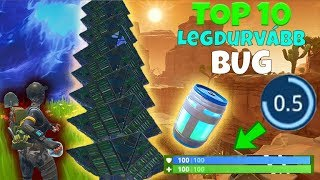 TOP 10 of the roughest and funniest bugs in Fortnitz! 😂😎