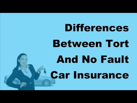 2017 Car Insurance Policy  | Differences Between Tort And No Fault Car Insurance