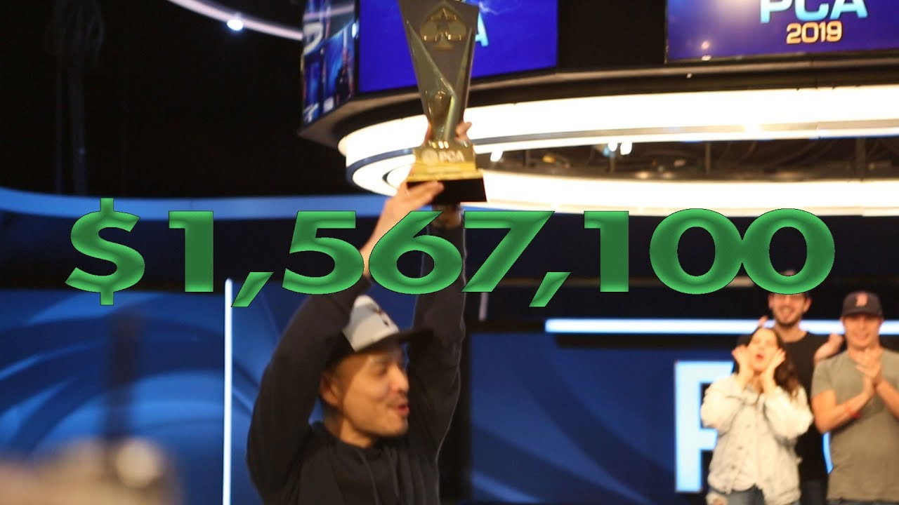 PCA Main Event Champion Chino Rheem
