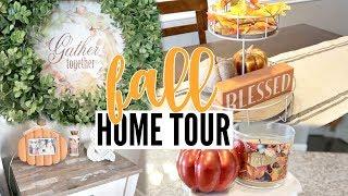 🍁 FALL HOME TOUR 2018 | FALL FARMHOUSE STYLE | ENTIRE HOUSE TOUR
