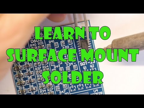 Teardown Lab - Learn how to surface mount solder!