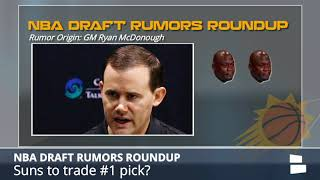 NBA Draft Rumors: Suns Trading #1 Pick, Doncic To Fall Out Of Top 3, Cavs Want Michael Porter Jr.