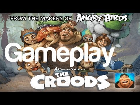 The Croods Gameplay Part 1 iOS Android Game Rovio DreamWorks   WikiGameGuides