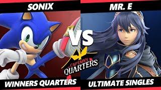 Captain's Quarters 3 Winners Quarters - Sonix (Sonic) Vs. Mr. E (Lucina) SSBU Singles