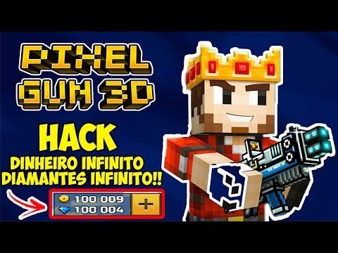HACK PIXEL GUN 3D 16.5.1| DINHEIRO E DIAMANTES INFIN1TO!  ( SEM ROOT) (SEM GAME GUARDIAN)