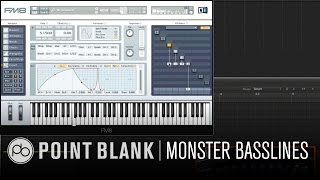 Sound Design w/ Icicle Part 3: Monster Basslines in FM8