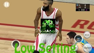 NBA 2K16  Low Graphics setting's Android