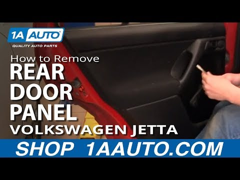 How to Remove the Rear Door Panel on Your 93-98 Volkswagen Golf or