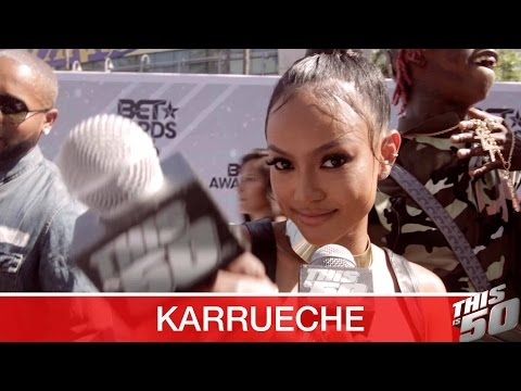 "Karrueche ""Kevin McCall Is Not My Bae"" + Chris Brown"