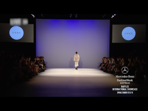 RAFFLES INTERNATIONAL SHOWCASE MERCEDES-BENZ FASHION WEEK AUSTRALIA SS 2016 COLLECTIONS