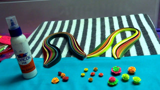 Paper Quilling Flowers | For Beginners