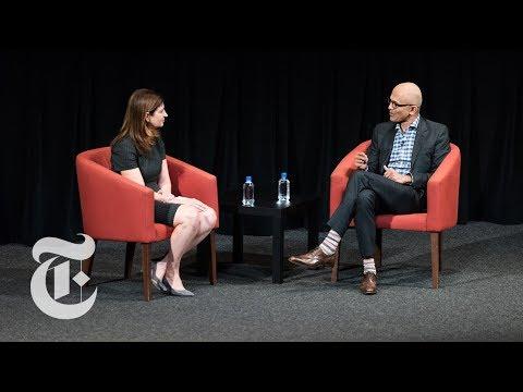 TimesTalks: Microsoft C.E.O. Satya Nadella