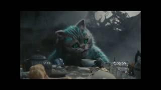 Рисуем Чеширского кота