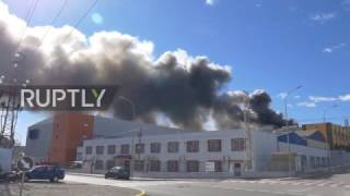 Spain: Fire breaks out at Paterna chlorine factory following explosion