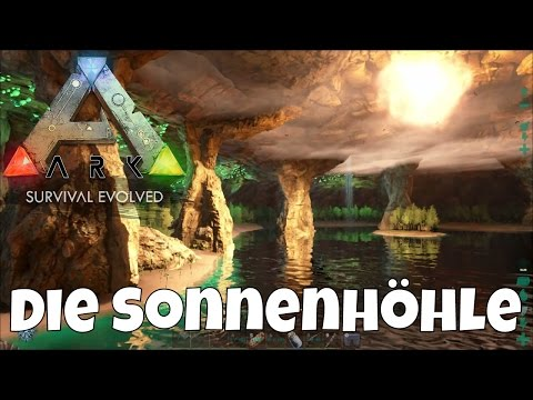 ark-the-center-map-#10-reise-zum-mittelpunkt-der-erde-die-sonnenhöhle-lets-play-ark-deutsch-german