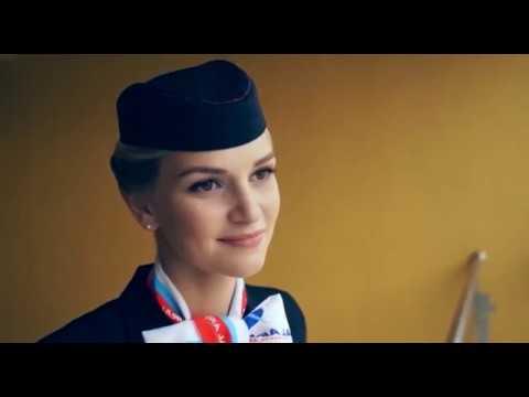 Самая красивая бортпроводница - Уральские Авиалинии