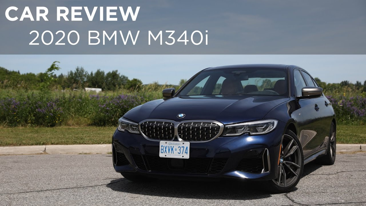 2020 Bmw M340i Car Review Driving Ca Youtube