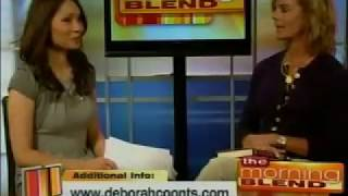 Deborah Coonts interviewed on Morning Blend Las Vegas
