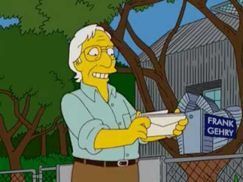 Frank Gehry: simpsons