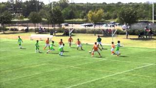 Houston Express 05B Navy vs Dynamo Academy U11 10-11-15