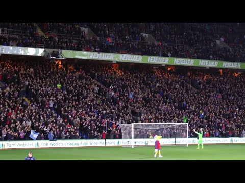 """Crystal Palace Fans Singing """"Glad All Over"""""""